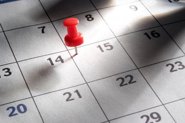 Term 2 Calendar