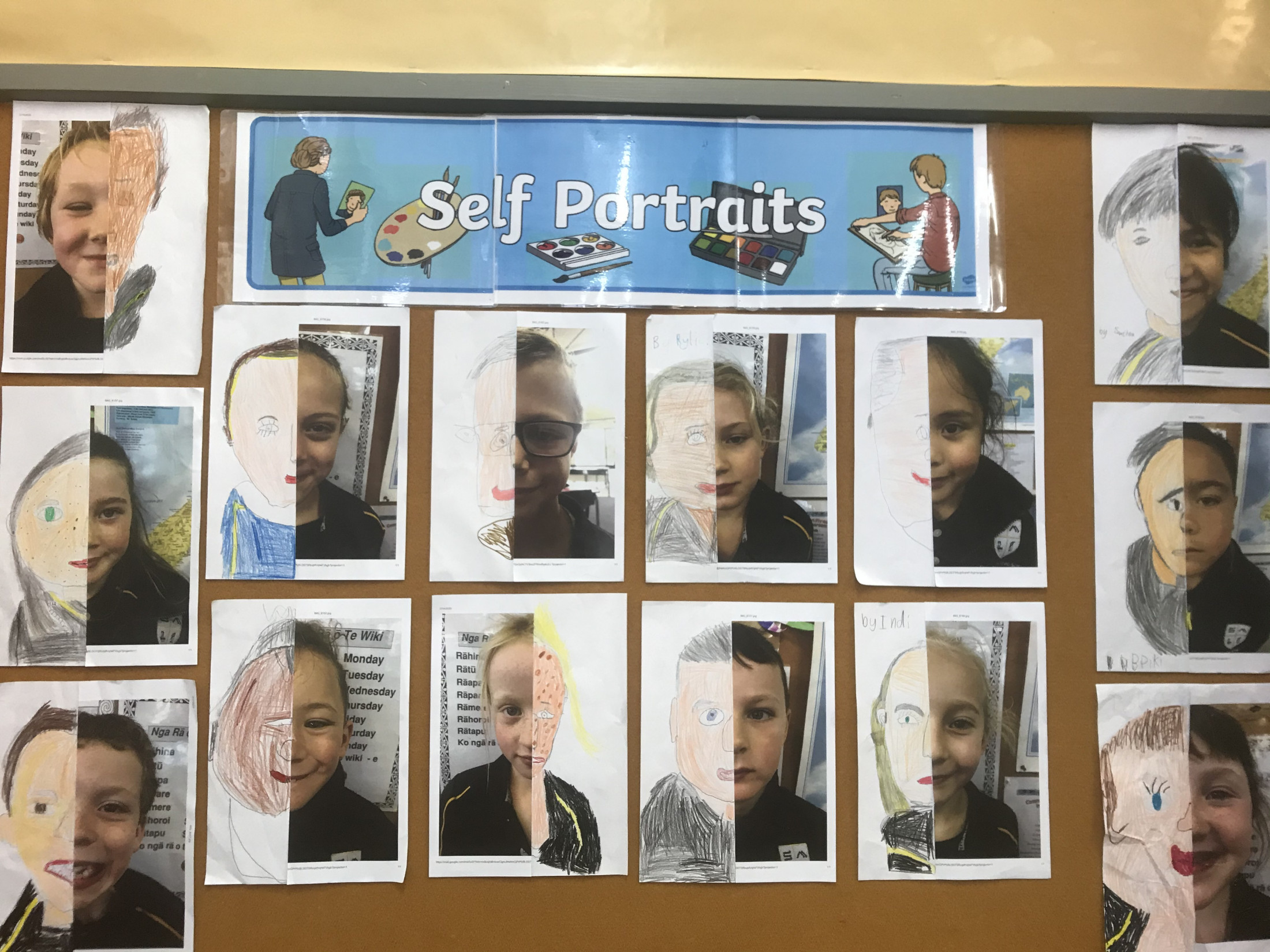 Room 3 - Self Portraits