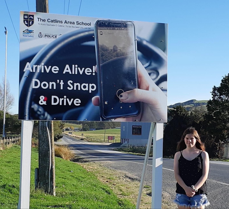 Road Safety Signage in Owaka