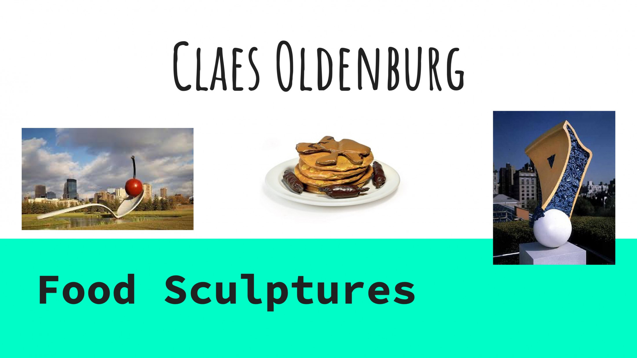 Claes Oldenburg and the Year 8/9s