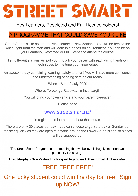 Street Smart Flyer