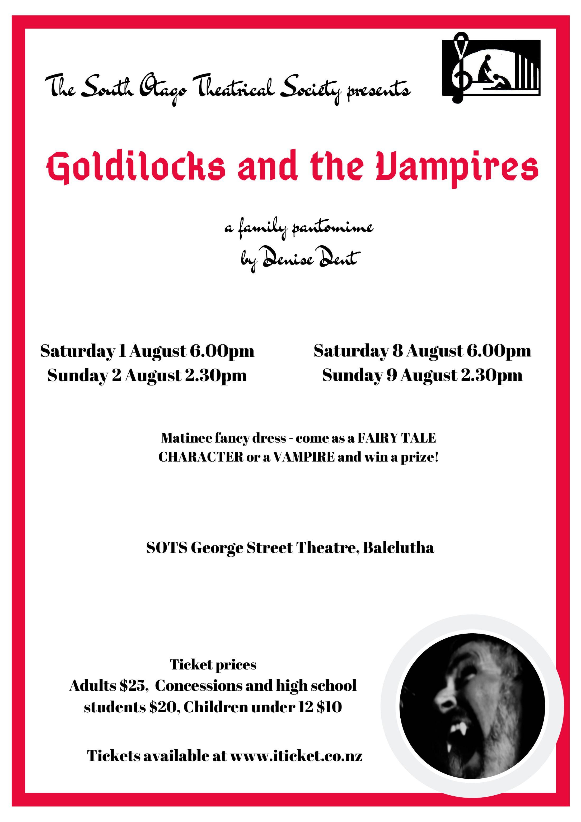 Goldilocks And The Vampires
