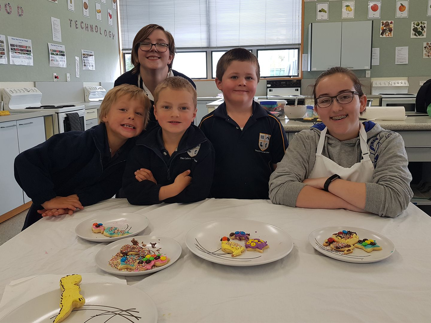 Baking with Room 1
