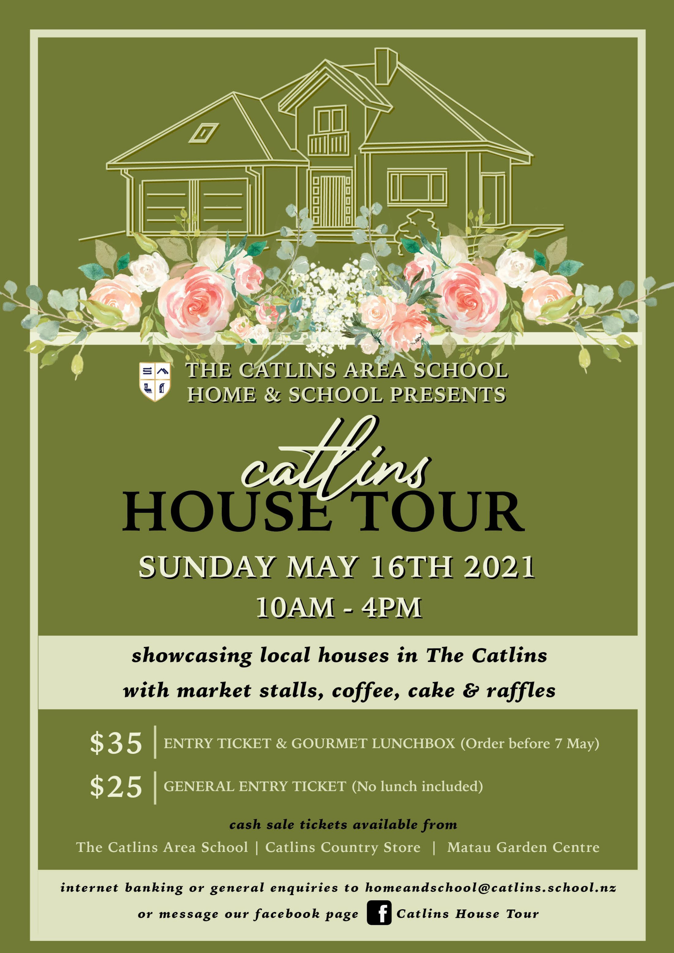Kitchen & House Tour Poster