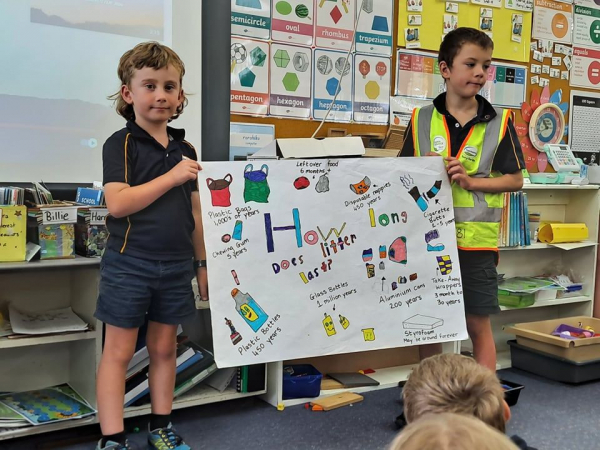 Litter, Poems and Certificates