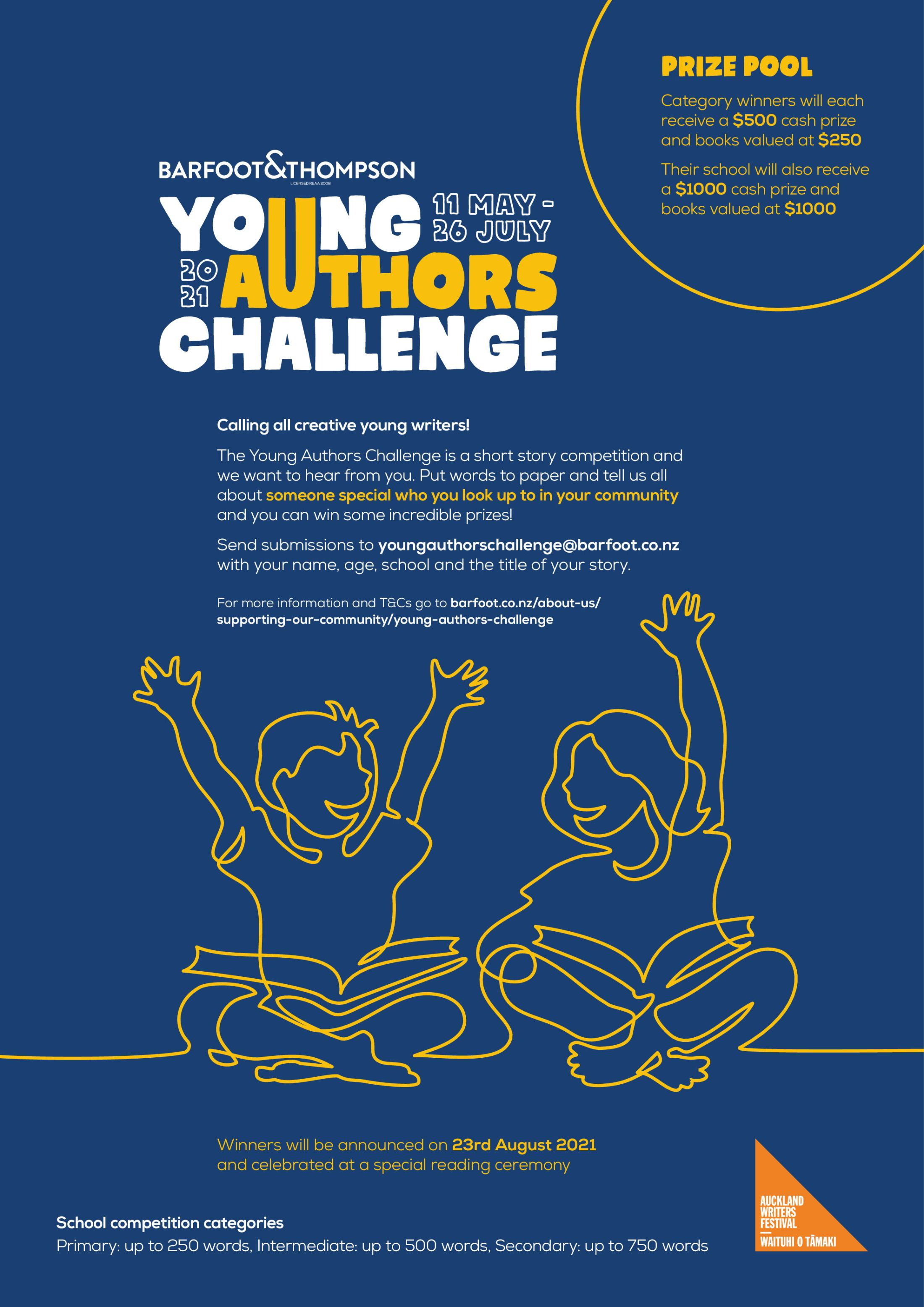 Young Authors Challenge 2021