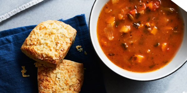 Soup and Scone Wednesday