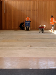 TCAS Gym floor replacement